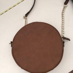 Cute Circle Brown Bag